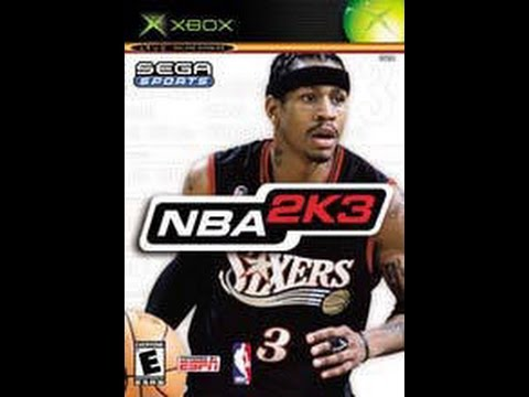 NBA 2K3 - Xbox 2002 (NBA Finals 2002 Los Angeles Lakers vs New Jersey Nets Rematch)