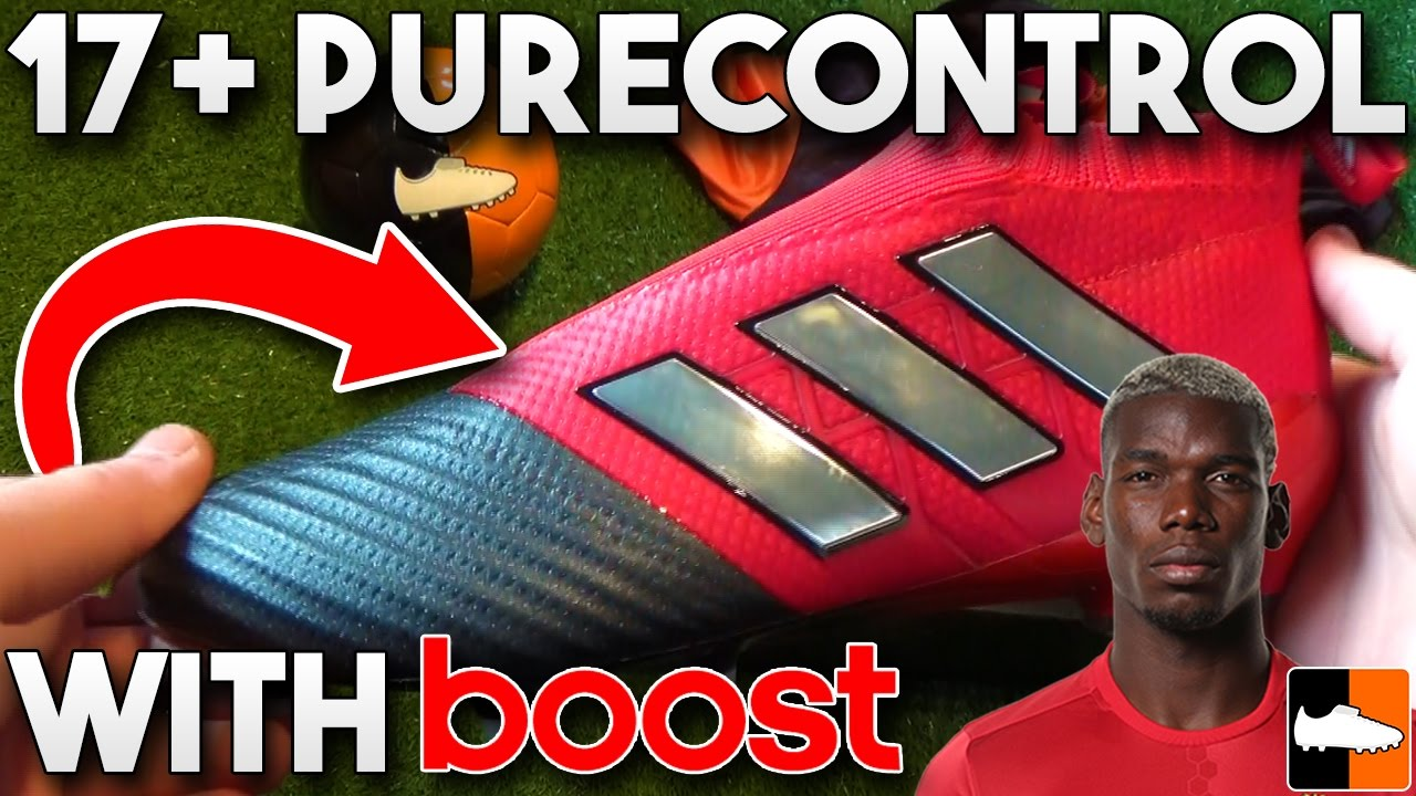 4e4900be734d ACE 17+ Purecontrol - Paul Pogba s new adidas Red Limit Boots - YouTube