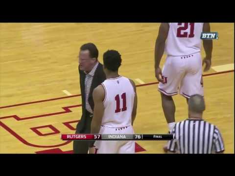 Tom Crean was not happy when Devonte Green threw an alley-oop in the closing seconds of a big win.