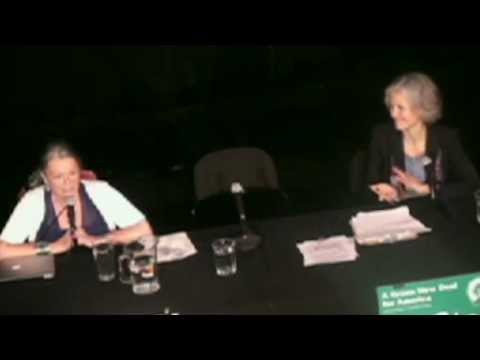 Roseanne Barr and Jill Stein Green Party Presidential Forum