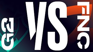 G2 vs. FNC   Finals Game 1   LEC Summer Split   G2 Esports vs. Fnatic (2020)