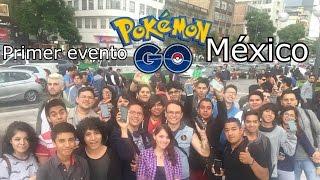 El primer evento de Pokemon Go México - Xris Cross