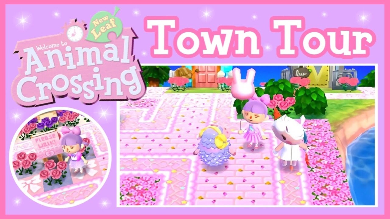Animal Crossing New Leaf Town Tour Youtube