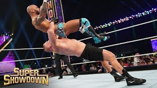 Brock Lesnar decimates Ricochet: WWE Super ShowDown 2020 (WWE Network Exclusive)