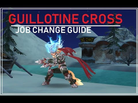 RAGNAROK MOBILE Guillotine Cross (GX) Job Change Guide
