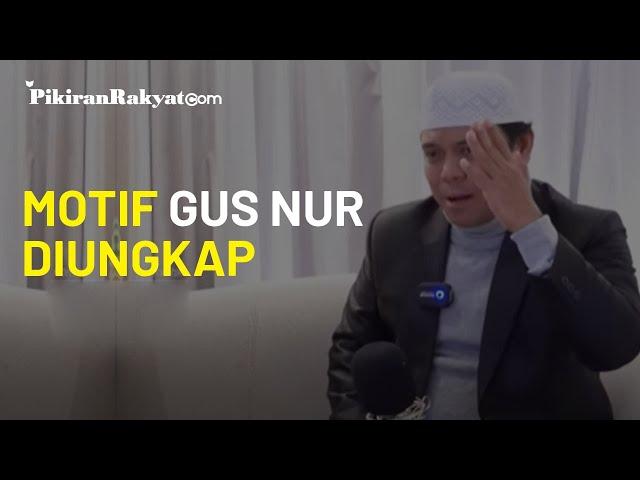 Gus Nur Tersangka Ujaran Kebencian, Polisi: Sugi Nur Mengaku Peduli NU