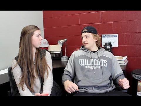 Northwestern WR Commit Ben Skowronek Interview with Tayla Davis