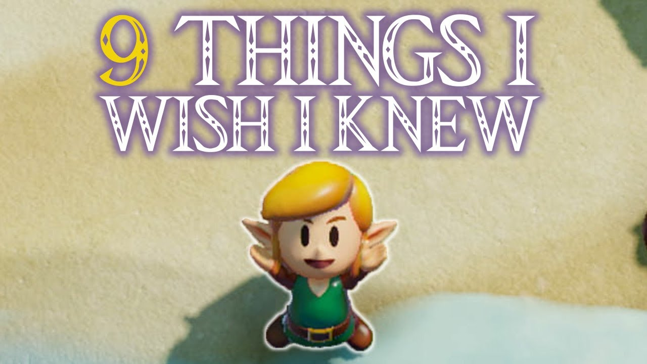 9 Things I Wish I Knew Before I Started Zelda: Link's Awakening (Nintendo Switch) thumbnail