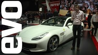 Ferrari GTC4Lusso in detail. Ferrari's new V12 FF replacement | evo MOTOR SHOWS