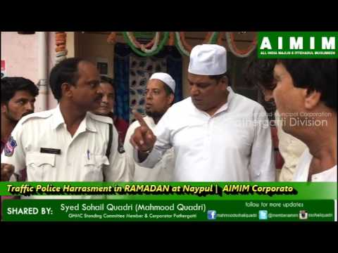 Traffic Police Harassment & Vulgar Language with Hawkers continues in Ramadan at Pathergatti