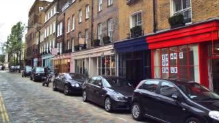 London Covent Garden area - RRZ518 visits London April 2013