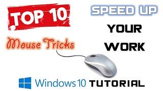 Top 10 Most Useful Mouse Tricks | Windows 10 / 8 / 7 Tutorial | The Teacher