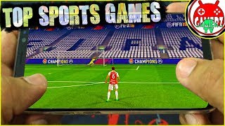High Graphics Games || Top 10 Best New Sports Games for Android/iOS in 2018 || Gamerzed Tv