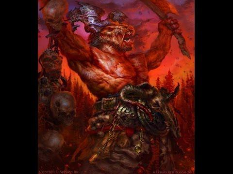 The Children of Chaos: Beastmen [1080p 60fps]