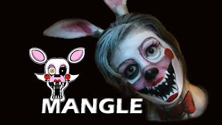 Fnaf Mangle - Maquillaje