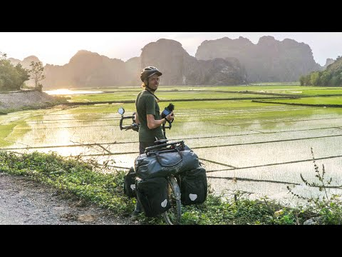 Bicycle Touring South East Asia: INSIDE A LIGHTNING STORM | Cycling the World 62