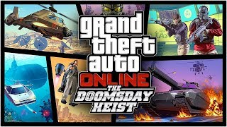 GTA 5 V DOOMSDAY HEIST NEW DLC Gameplay 🔴 Best Weapons & Cars for NEW DLC | PC 60fps