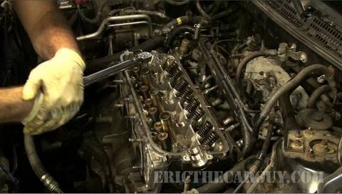 How To Torque Cylinder Head Bolts - EricTheCarGuy