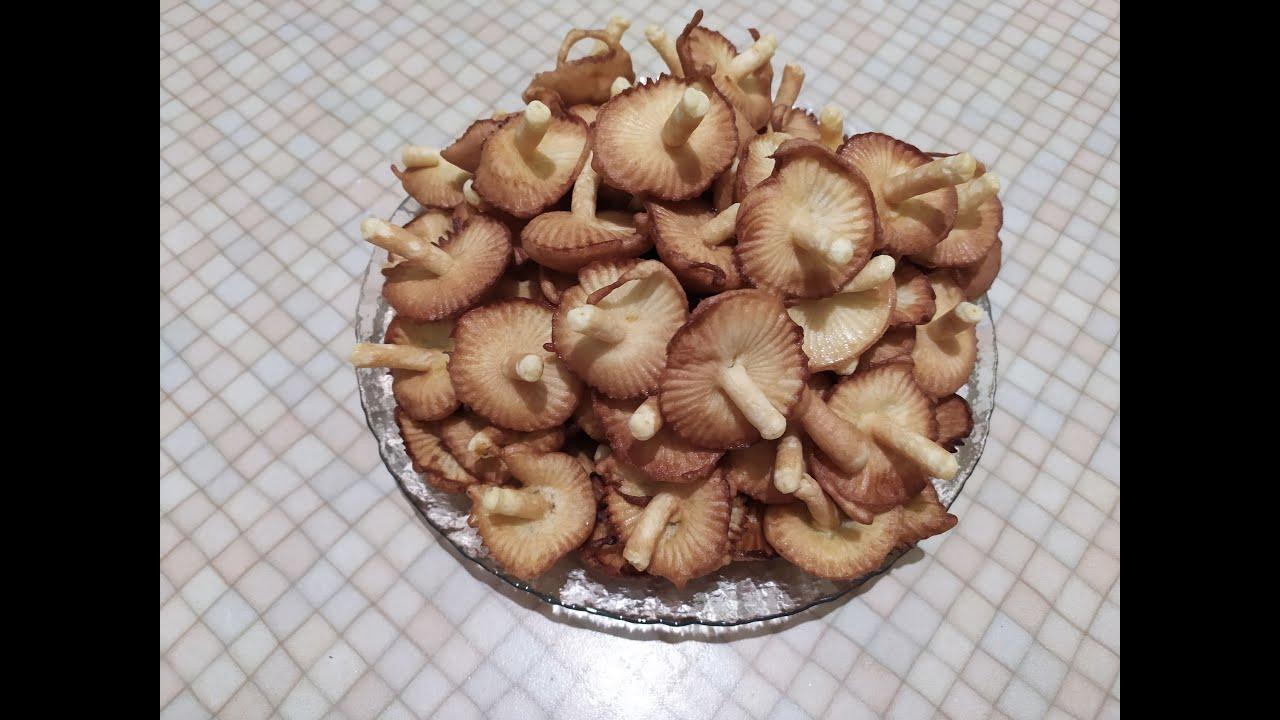 печенье грибочки во фритюре рецепт с фото поддерживал