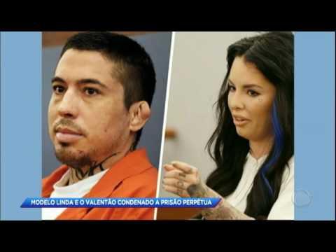 Homem é condenado à prisão perpétua após espancar a namorada nos EUA