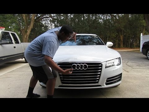SHE FINALLY BOUGHT HER DREAM CAR!! - AUDI A7!!