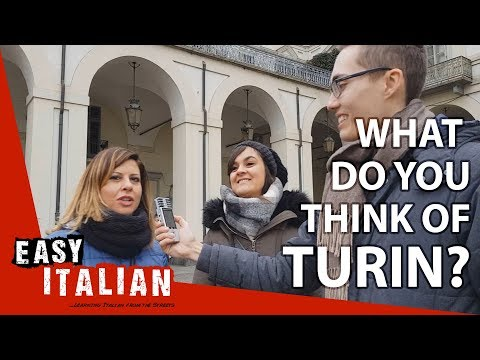 What do you think of Turin? | Easy Italian 14
