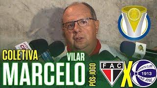 [Série D '18] Coletiva Marcelo Vilar | Pós-jogo Ferroviário AC 3 X 1 EC São José/RS | TV ARTILHEIRO