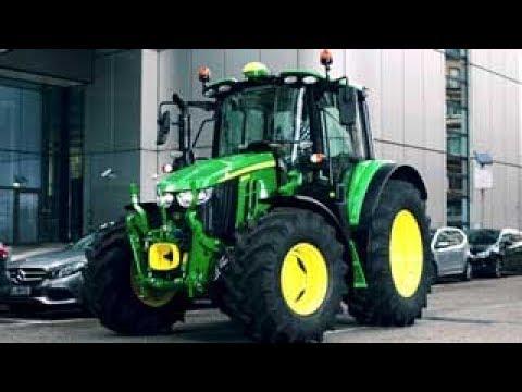 John Deere - Tratores 6M - Manobrabilidade