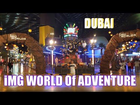 World Largest Theme Park, Ride | iMG WORLD of ADVENTURE DUBAI
