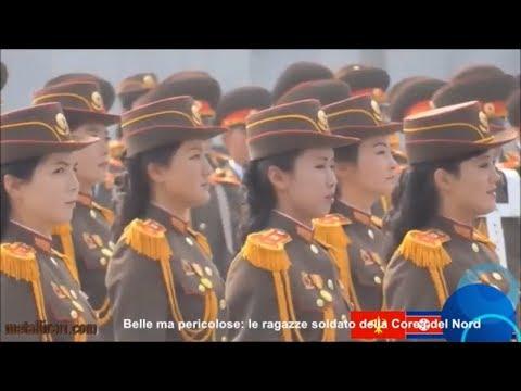 Belle ma pericolose: le ragazze soldato della Corea del Nord