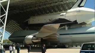 Tour of Shuttle Enterprise at JFK