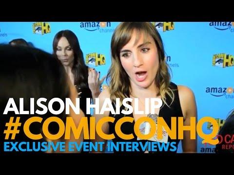 Alison Haislip at the Winter Series Showcase of Comic-Con HQ & Con Man S2 Screening
