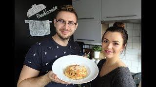 Spaghetti pomodoro z kalafiorem.