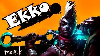 LOL FUNNY/FAIL MOMENTS EKKO jungle season 6 - League of Legends by MoNK