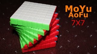 moyu cubic aofu 7x7 gt stickerless