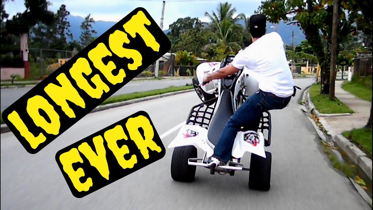 raptor 700 longest wheelie ever,ORIGINAL, DANNY RIVAS rims ...