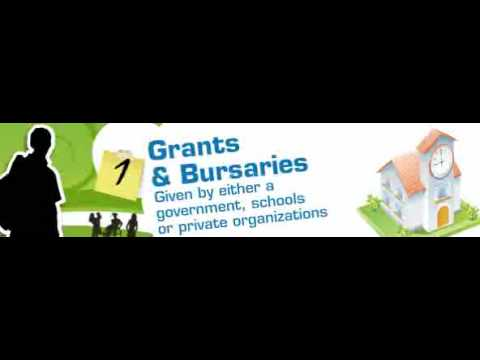 Learning About Grants, Bursaries and Scholarships