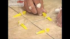 Tile levelling Lash Clips from Tradetiler