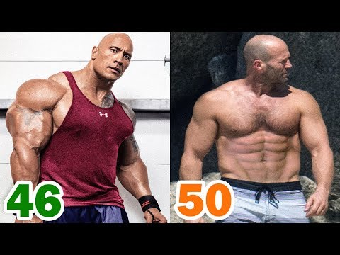 The Rock vs Jason Statham Transformation ★ 2018
