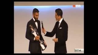 محلل قناة دبي الرياضية لو فازعربي يوماً بجائزة الكرة الذهبية يومها يجب أن يشكر رياض محرزRiyad Mahrez