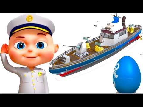 Ship Assembly Video | Vehicle Construction For Kids | Videogyan Fun Videos | Videos For Toddlers