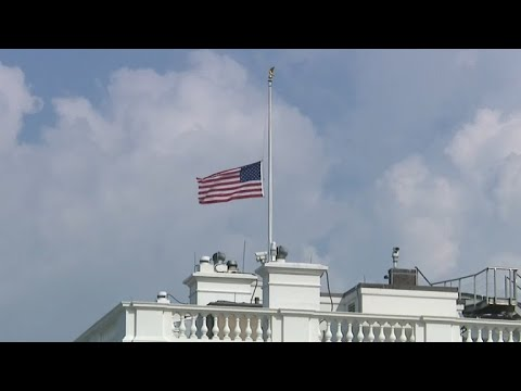 White House, Criticized For Lapse, Lowers Flag To Half-staff For Sen. John McCain