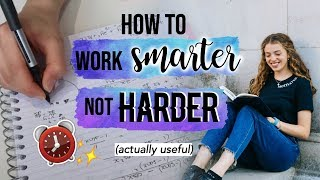 5 Productivity Hacks to Halve your Study Time and Be More Effective 🌟