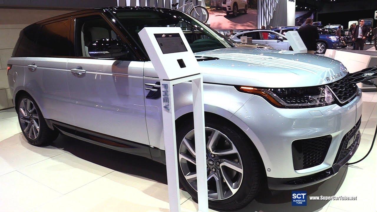 2018 range rover sport p400e hse exterior and interior walkaround 2017 la auto show youtube. Black Bedroom Furniture Sets. Home Design Ideas