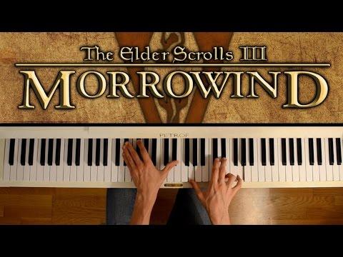 Morrowind (Piano cover) - Call of Magic/Nerevar Rising: Main theme (+ sheets)