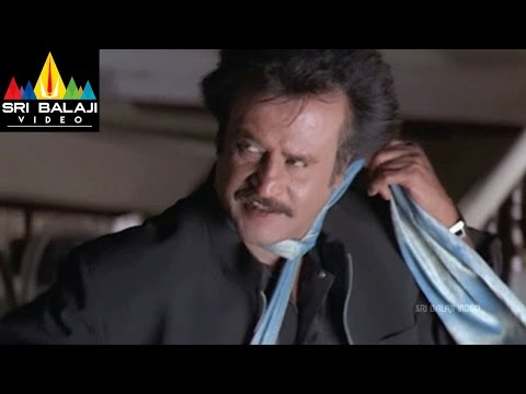 Chandramukhi Movie Rajnikanth Sonu Sood Fight Scene | Jyothika | Sri Balaji Video