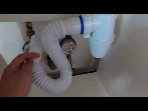 Как убрать неприятный запах из раковины на кухне? Воняет? Сборка, установка сифона Orio (Орио)