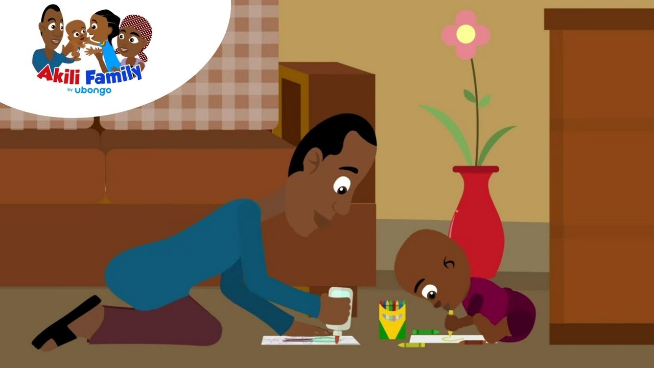 Make Books with Your Kid | Akili Family For Caregivers | African Educational Videos