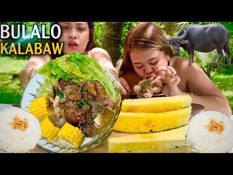 BACKYARD MUKBANG| BULALONG KALABAW | MUKBANG PHILIPPINES