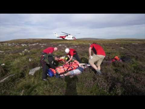 Brecon Beacons National Park HM Coastguard Rescue operation